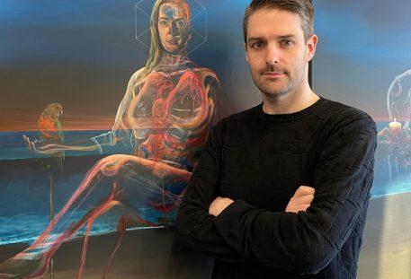 Vincent Devine Artist Vicky Phelan Portrait